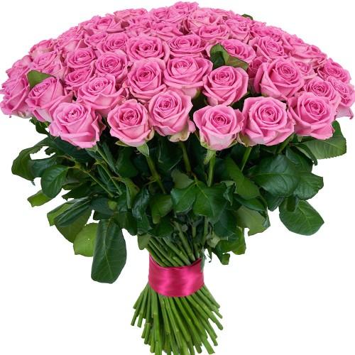Купить на заказ Заказать Букет из 101 розовой розы с доставкой по Павлодару  с доставкой в Павлодаре