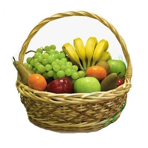 Купить на заказ Заказать Корзина с фруктами 4 с доставкой по Павлодару  с доставкой в Павлодаре