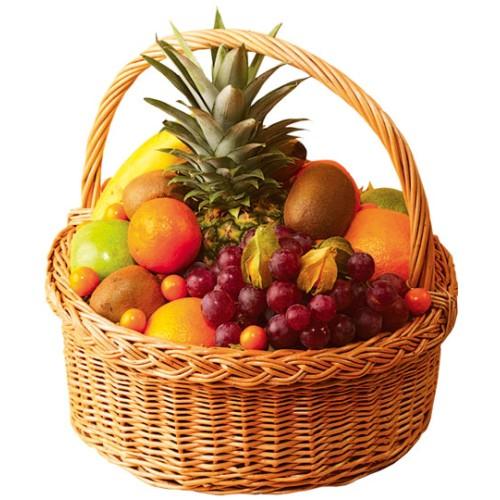 Купить на заказ Заказать Корзина с фруктами 2 с доставкой по Павлодару  с доставкой в Павлодаре