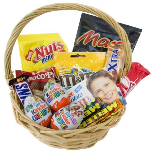 Купить на заказ Заказать Корзина сладостей 2 с доставкой по Павлодару  с доставкой в Павлодаре