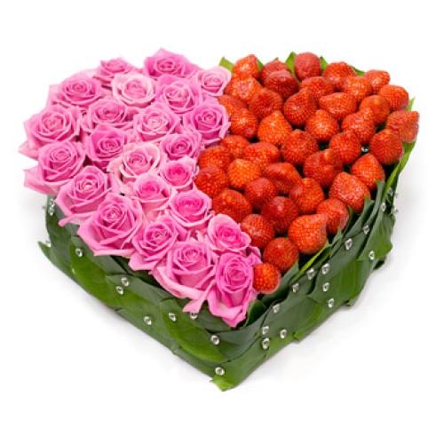 Купить на заказ Заказать Сердце 6 с доставкой по Павлодару  с доставкой в Павлодаре
