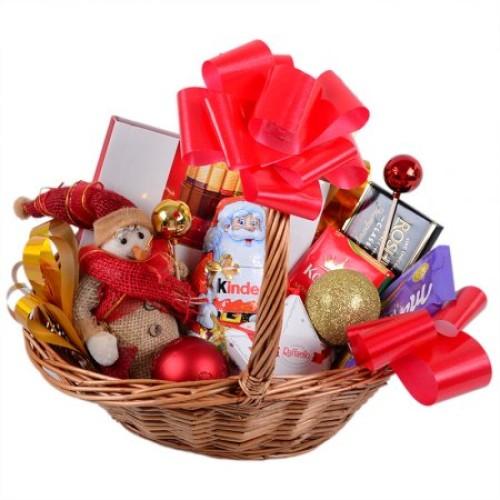 Купить на заказ Заказать Корзина с подарками с доставкой по Павлодару  с доставкой в Павлодаре