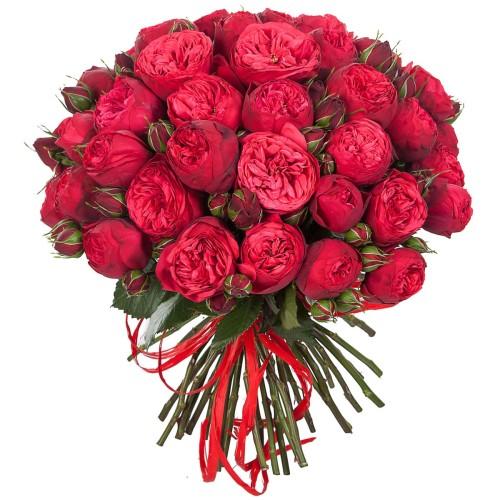 Купить на заказ Заказать Букет из 51 пионовидные розы с доставкой по Павлодару  с доставкой в Павлодаре
